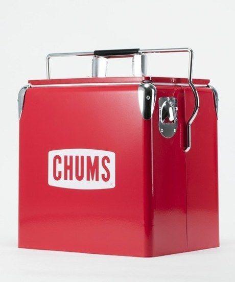 チャムススチールクーラーボックス