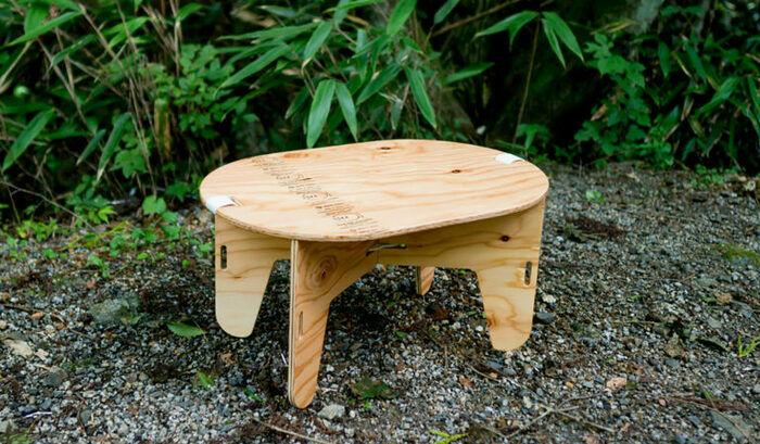 YOKAのオーブルテーブルの画像
