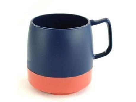 8oz. Mug 2TONE M.Blue/Mauve