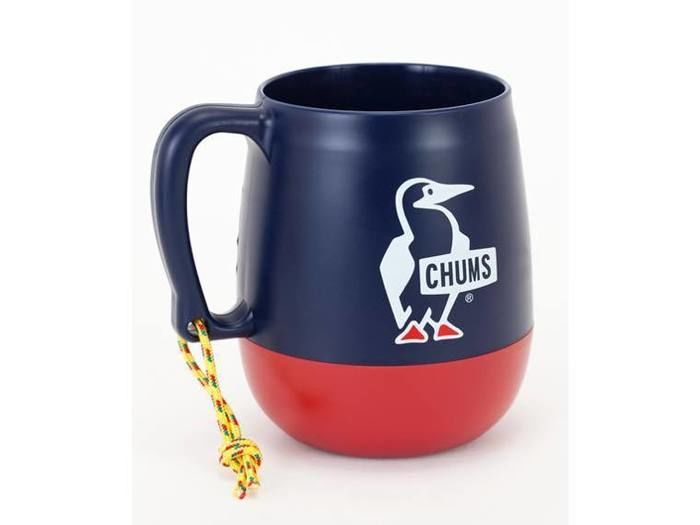 BigRoundCamperMug(Navy/Red)
