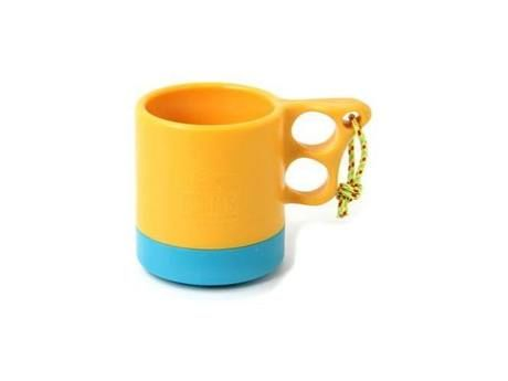 Camper Mug Cup II(Yellow/Teal)