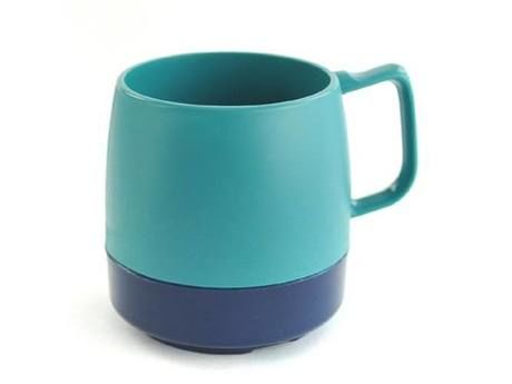 8oz. Mug 2TONE Teal/M.Blue