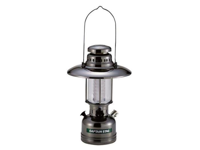 LEDアンティークランタン(メタルブラック)