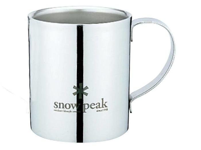 スノーピークロゴダブルマグ240