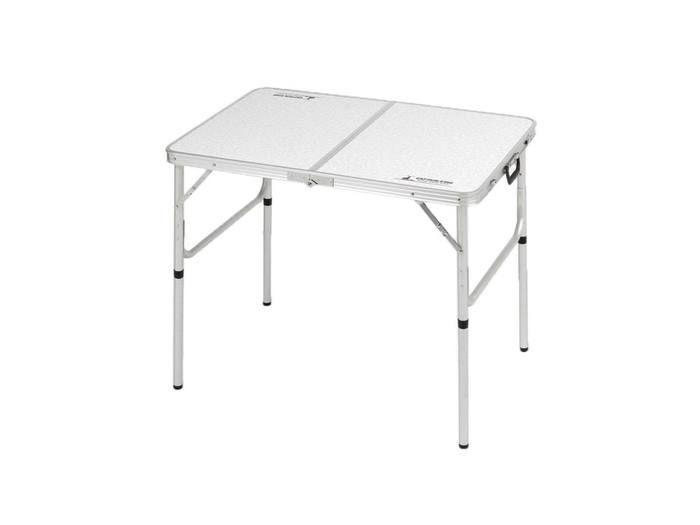ラフォーレアルミツーウェイテーブル(アジャスター付)〈S〉90×60cm