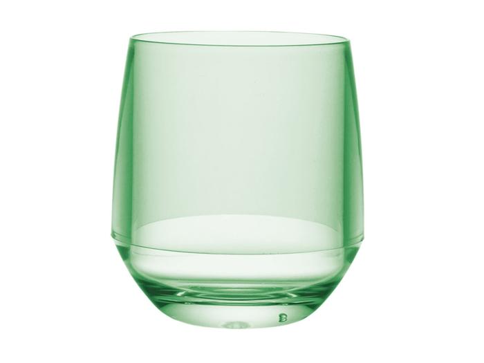 クラルテ ワイングラス・クリアグリーン