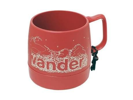 and wander DINEX printed mug mauve