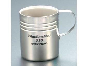 チタン二重マグカップ 330