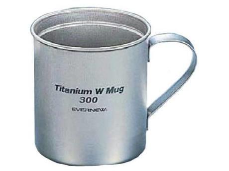 チタン Wマグカップ 300