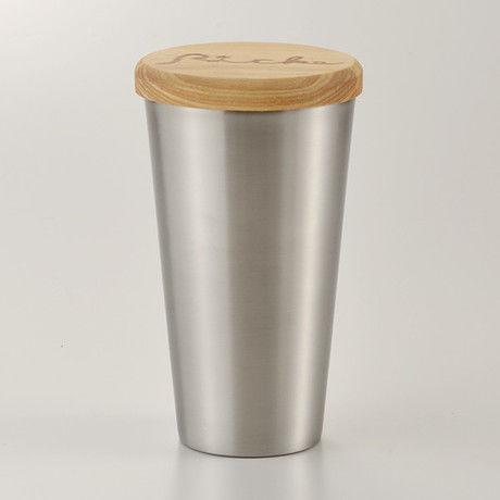 木のふた付おそとカップ