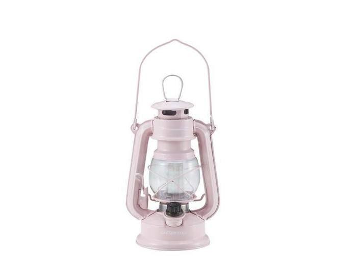 アンティーク暖色LEDランタン(ベビーピンク)