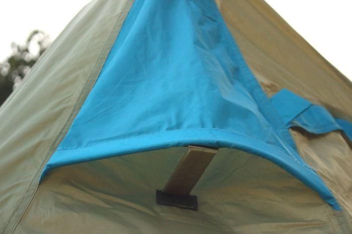 ロゴス「LOGOS ナバホ Tent Type-A」のベンチレーション