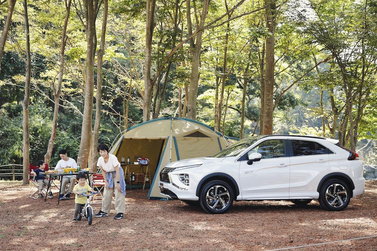 子どもとのキャンプの約束を気軽に実現!三菱自動車の月額定額「ウルトラマイカープラン」でクルマと道具をお得に解決!!