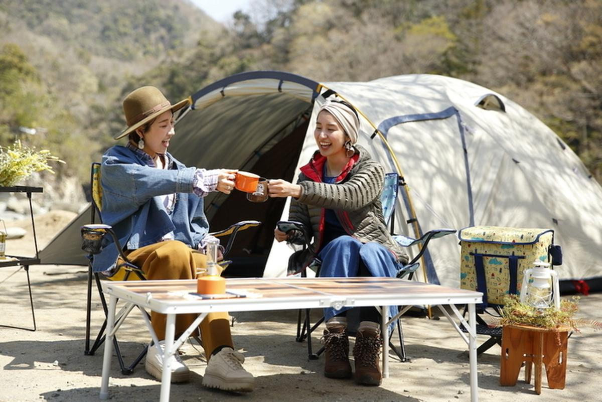女子キャンプの様子