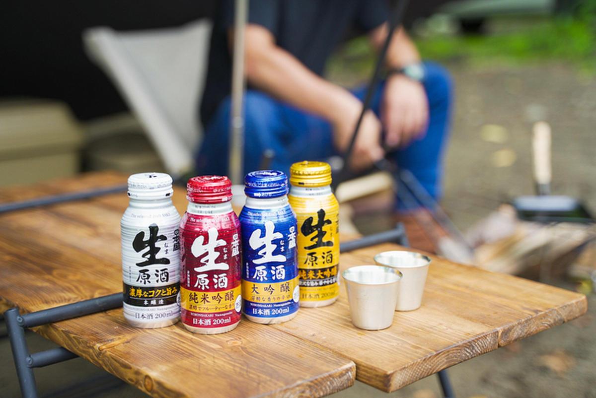 日本盛のボトル缶