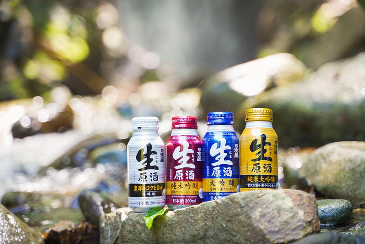 日本酒のボトル缶