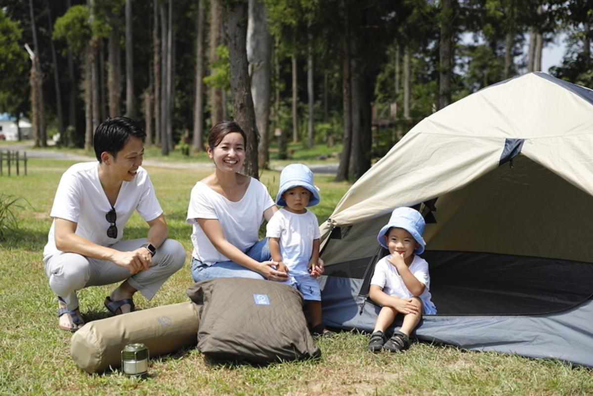 防災キャンプ道具のセット