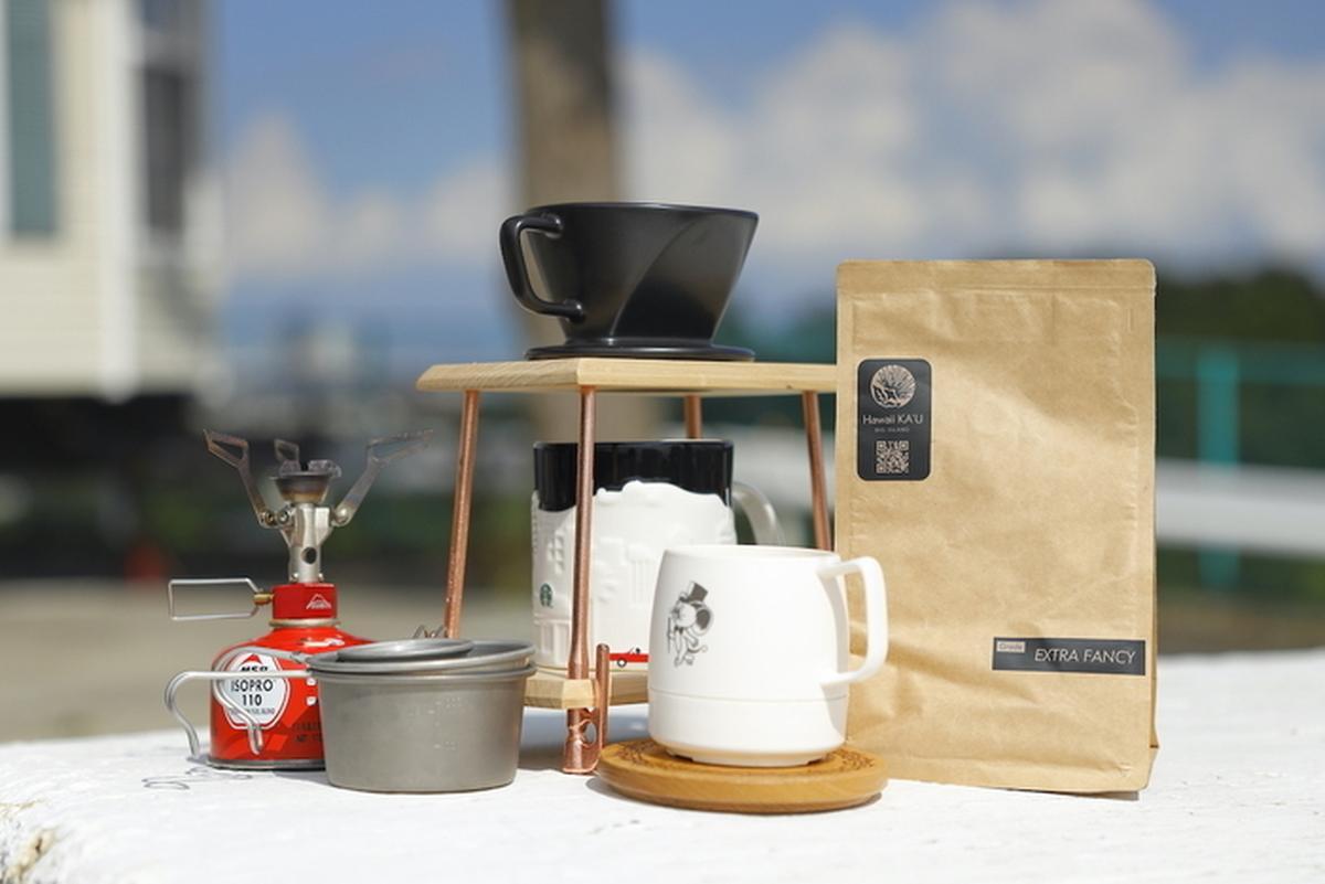 カウコーヒーとコーヒーセット