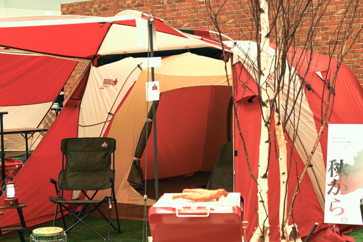 名作テントがパワーアップして復刻!タンカラーの新作ティピーも!ロゴスの注目4アイテム