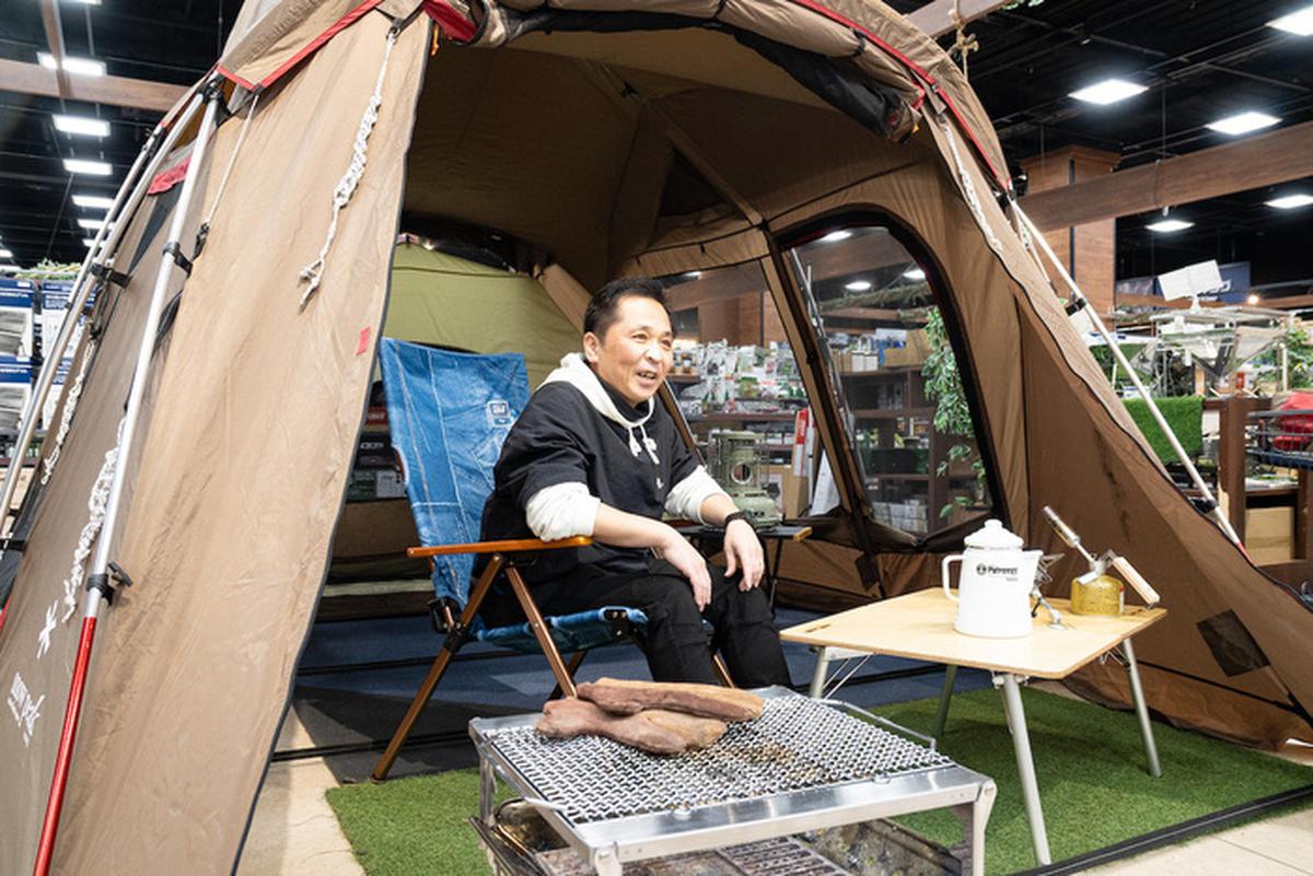 矢澤さんのキャンプギア