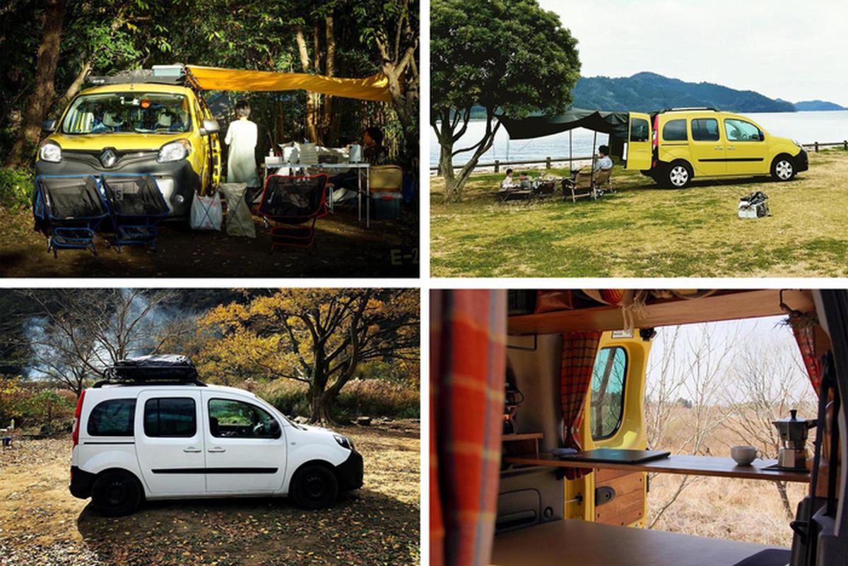 背伸びしないキャンプ車なら「ルノー・カングー」。オーナー7人に聞いて分かった、その魅力【hinataガレージ】