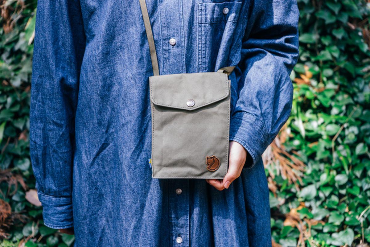 フェールラーベンのサコッシュ「ポケット」が違うワケ。長く使えるモノ選びこそ、自然への優しさ
