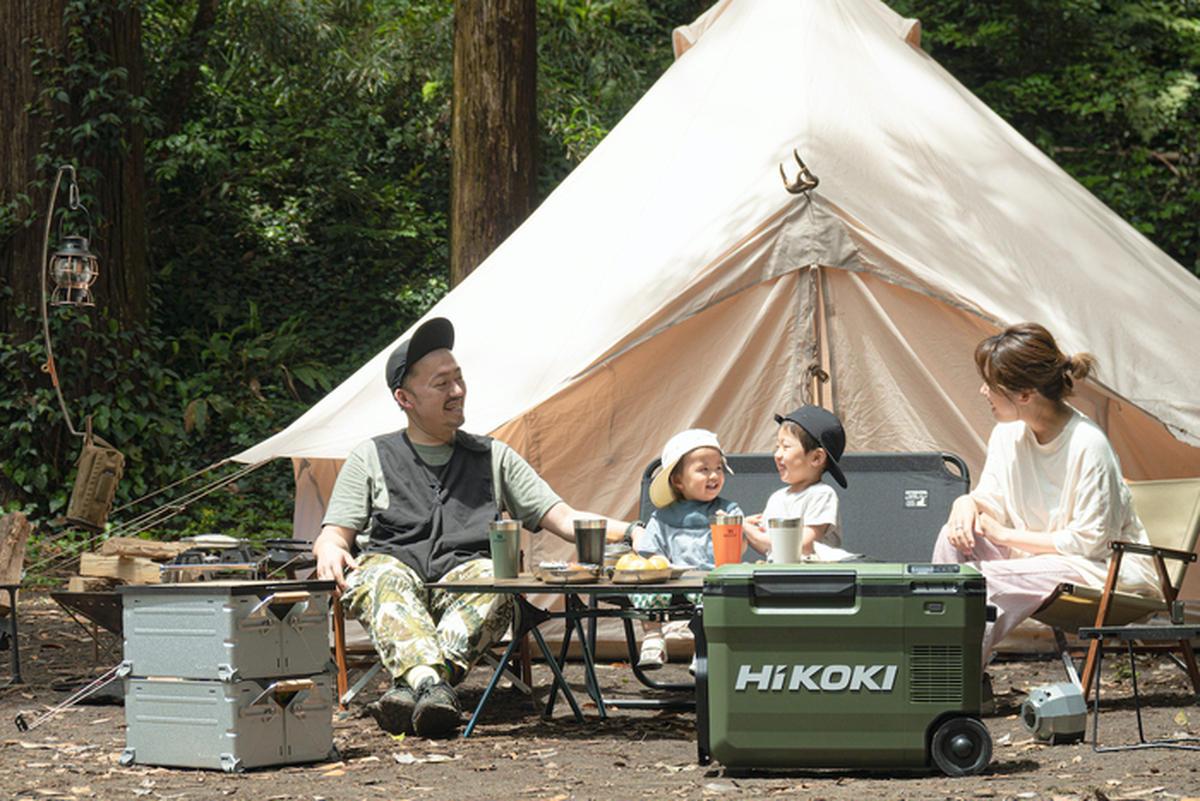 夏キャンプでキンキンのビールと溶けないアイス!HiKOKIのコードレス冷温庫は家族を思いやるギアだった【検証】