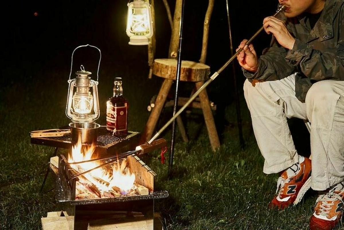 モナークワークスのやみつきになるファイヤーブラスター「HIFUKI」。焚き火の楽しさ伝える特殊形状の正体とは?
