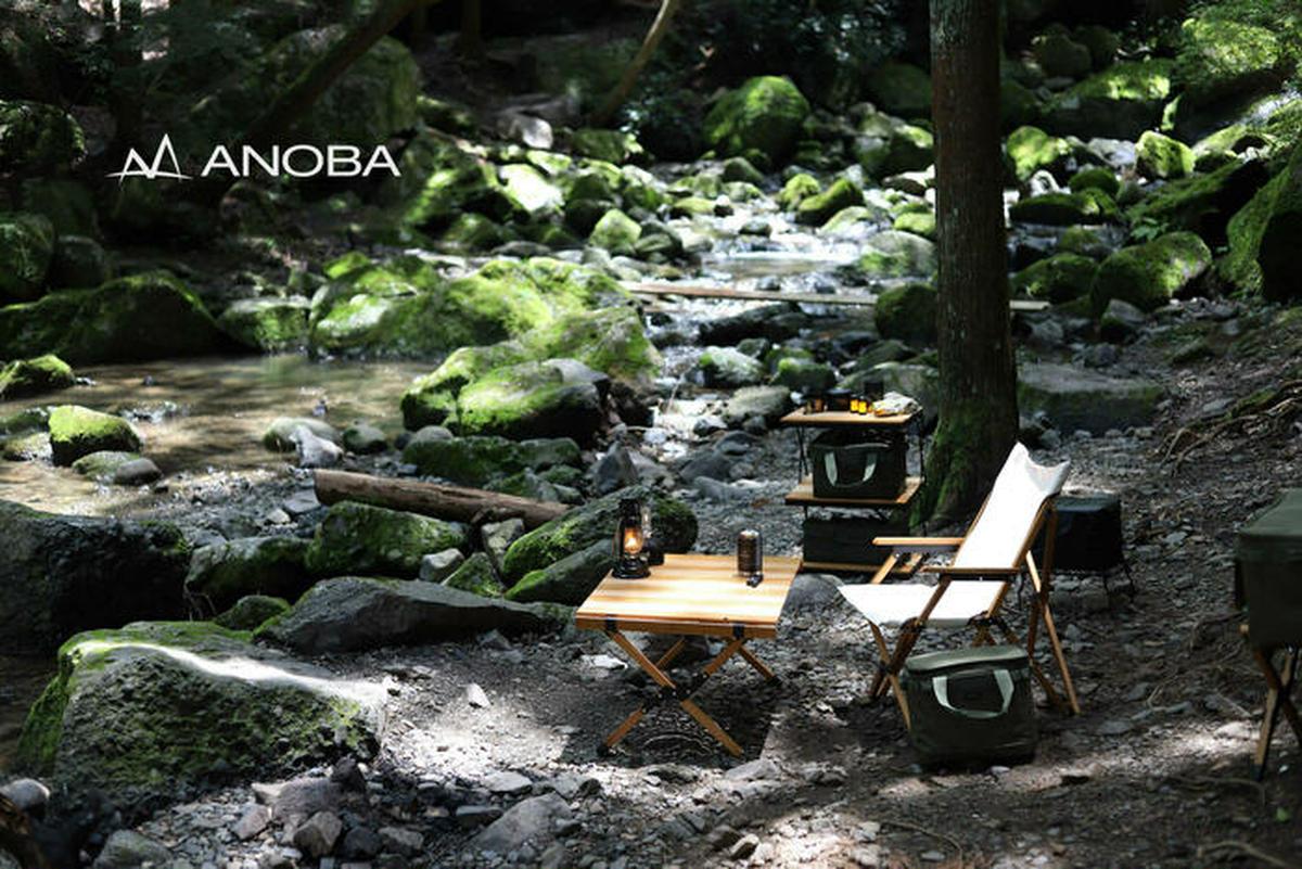 【注目】この夏、ANOBAのアイテムで大人なキャンプサイトへ。噂のセレクトショップもお披露目
