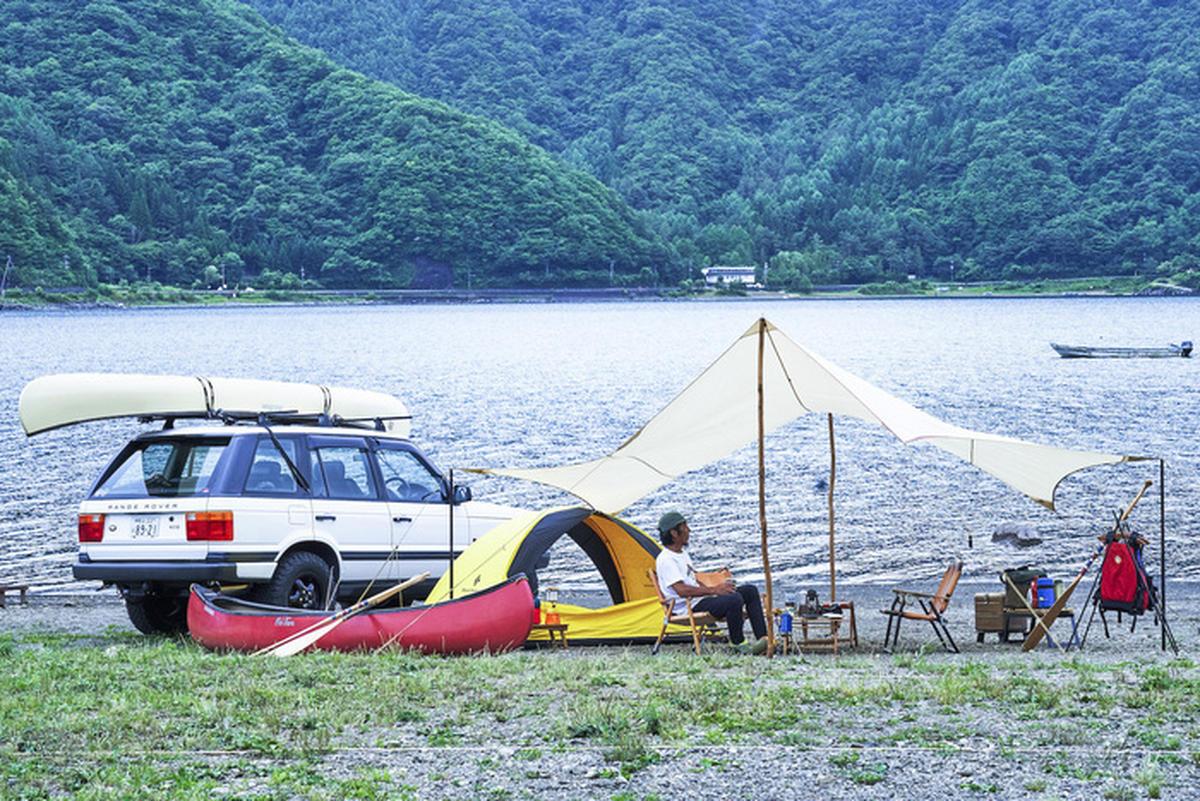 カヌーキャンプ