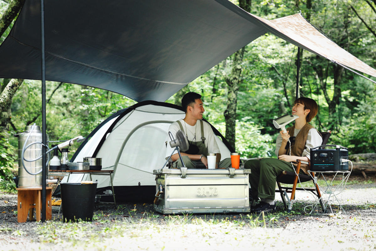 Eキャンプの様子