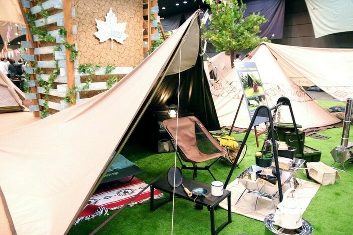 【速報】ロゴス2022年新作!メスティン専用網に二又ポールのタープでキャンプをより快適に